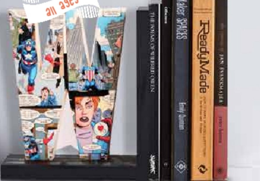 Personalized 'Book Ends'